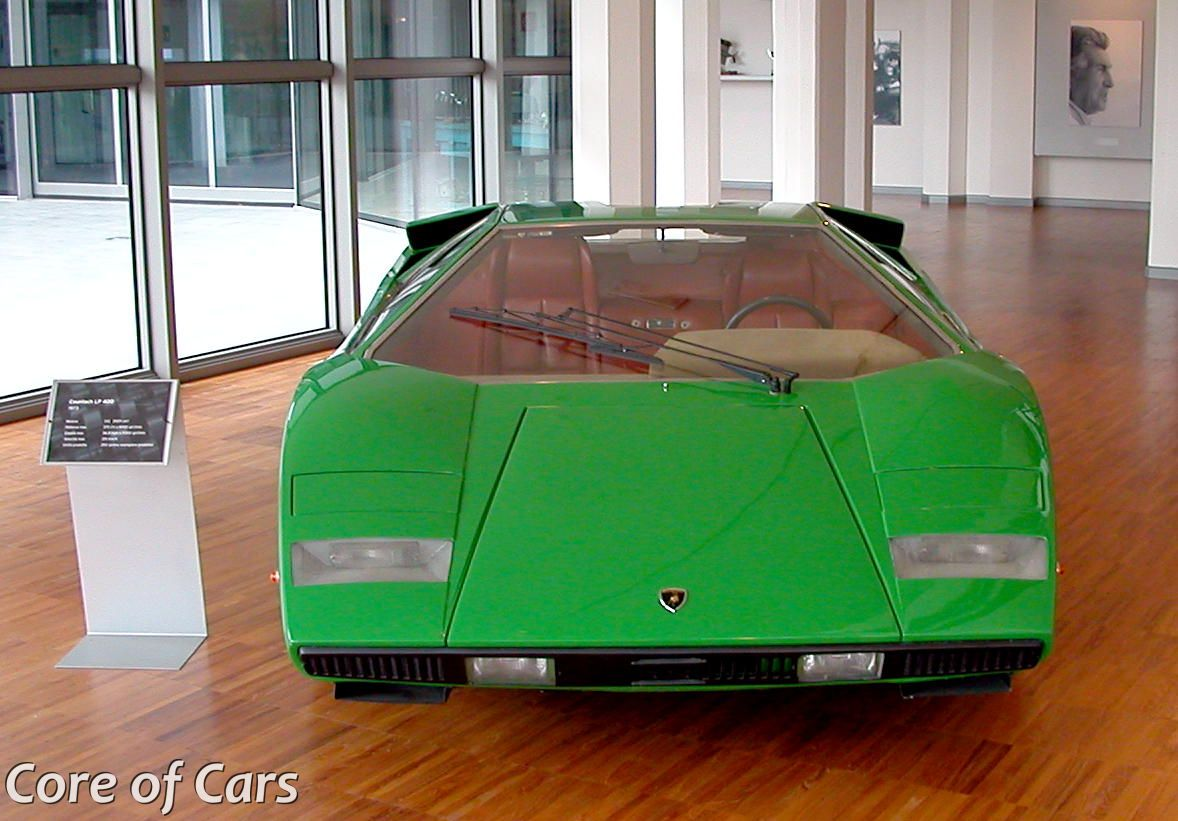 Finding the oldest existing Lamborghini Countach
