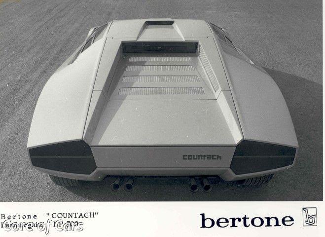 """Up Periscope! The Lamborghini Countach """"Periscopio"""" – Core of Cars"""