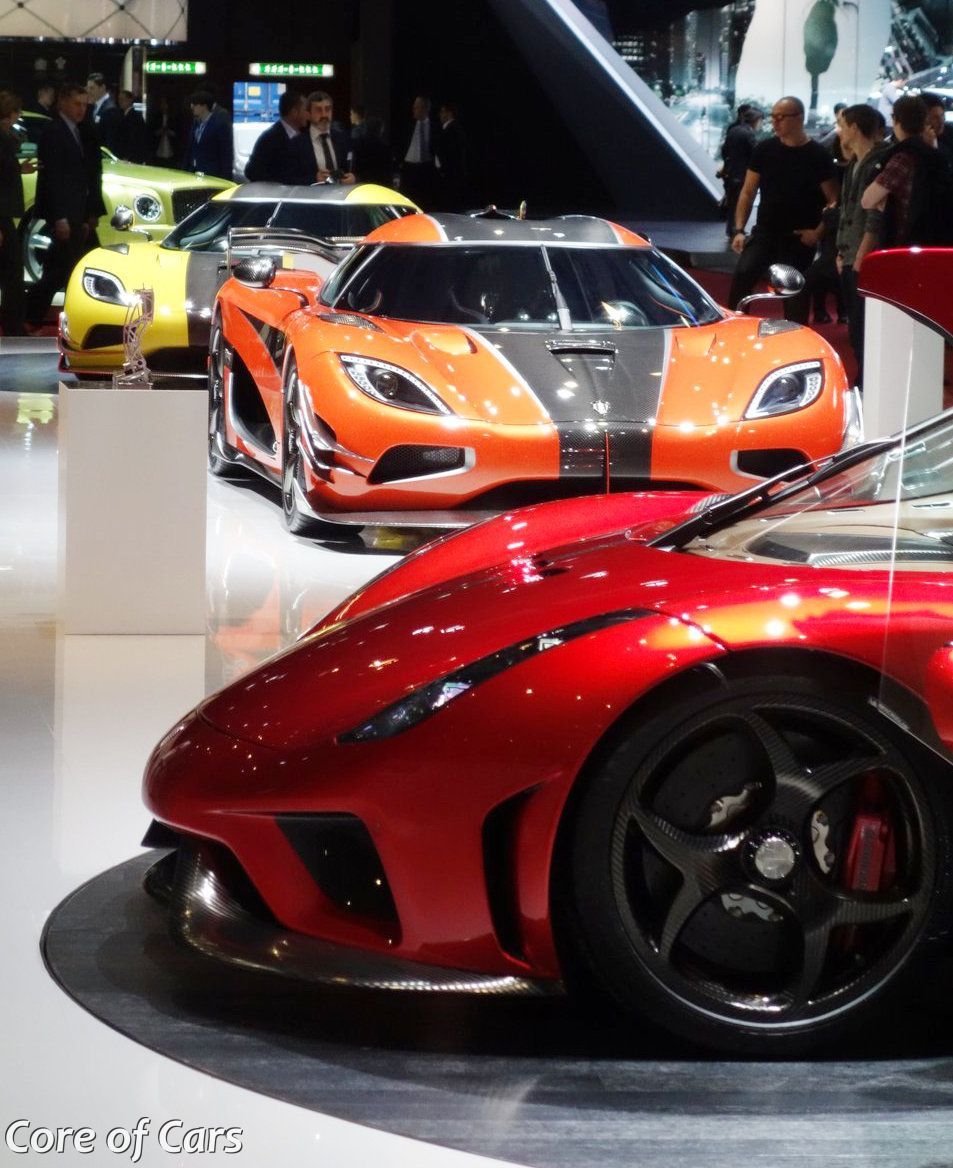 Koenigsegg Agera At The End Of The Line