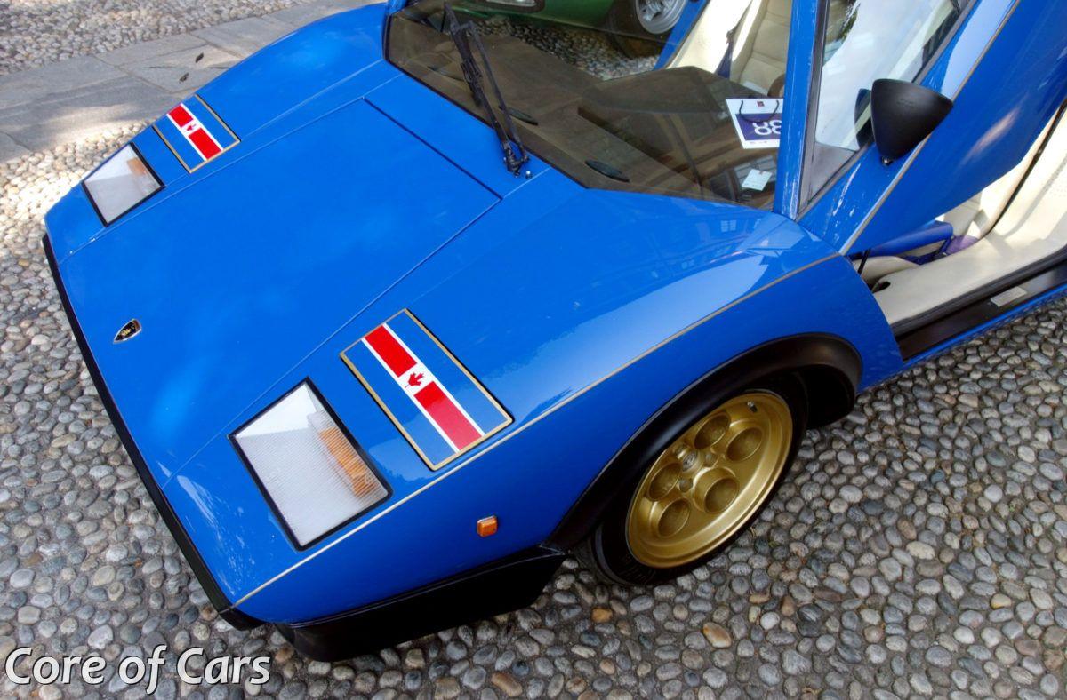 """Lamborghini Countach """"Walter Wolf"""" at Villa d'Este"""