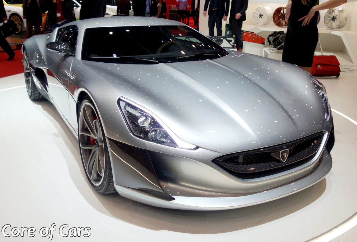 Rimac Concept_One has Entered Production