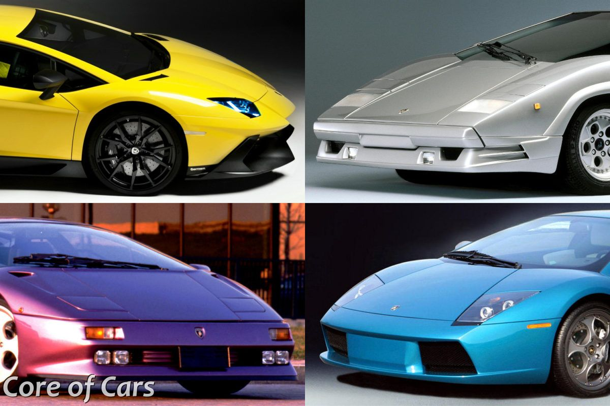 Lamborghini's Anniversary Models