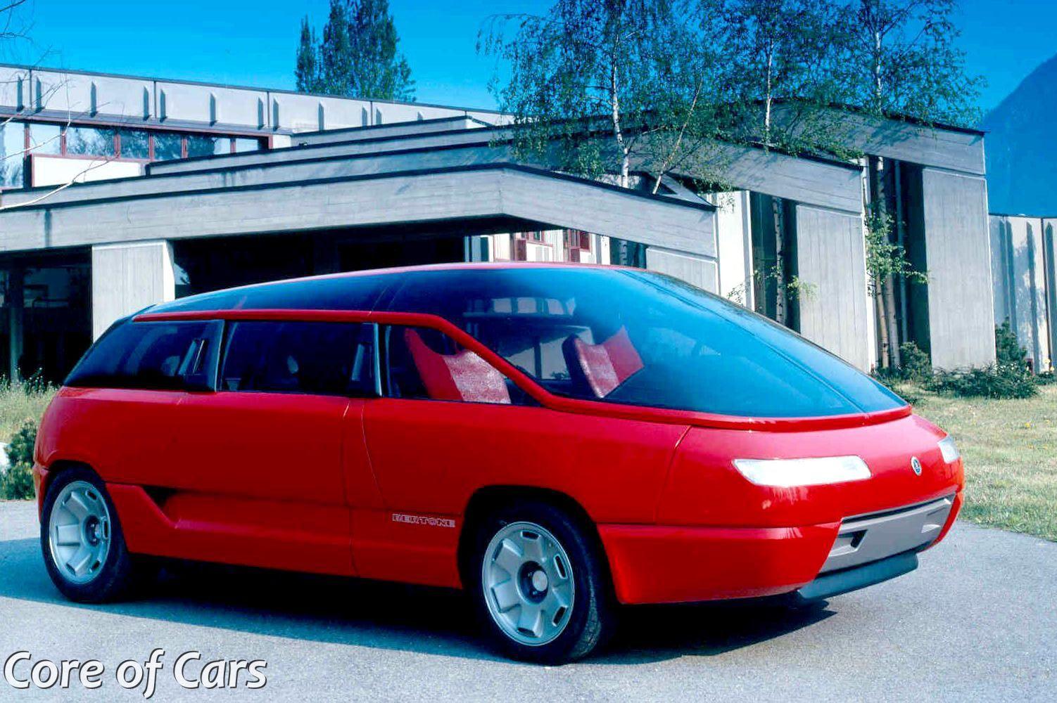 Bertone Genesis The Lamborghini Powered Minivan Core