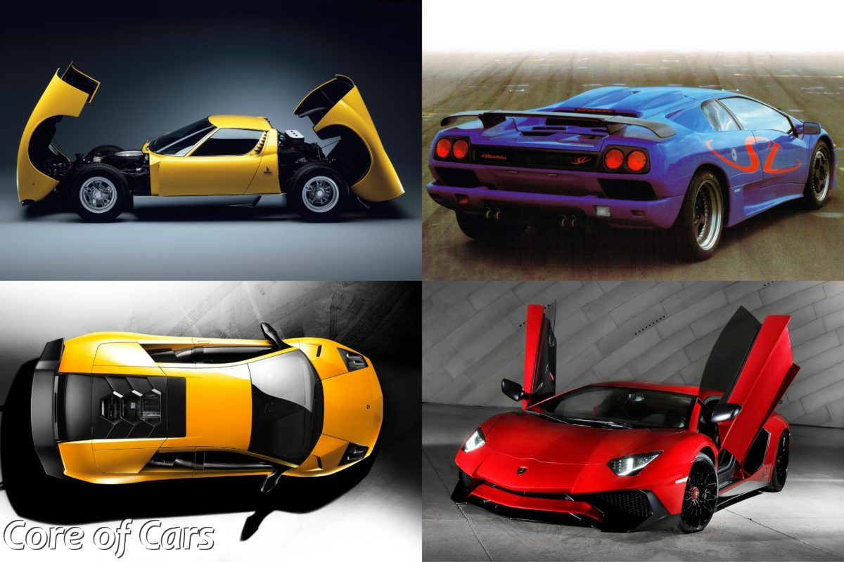 The Tale of Lamborghini's SV Models