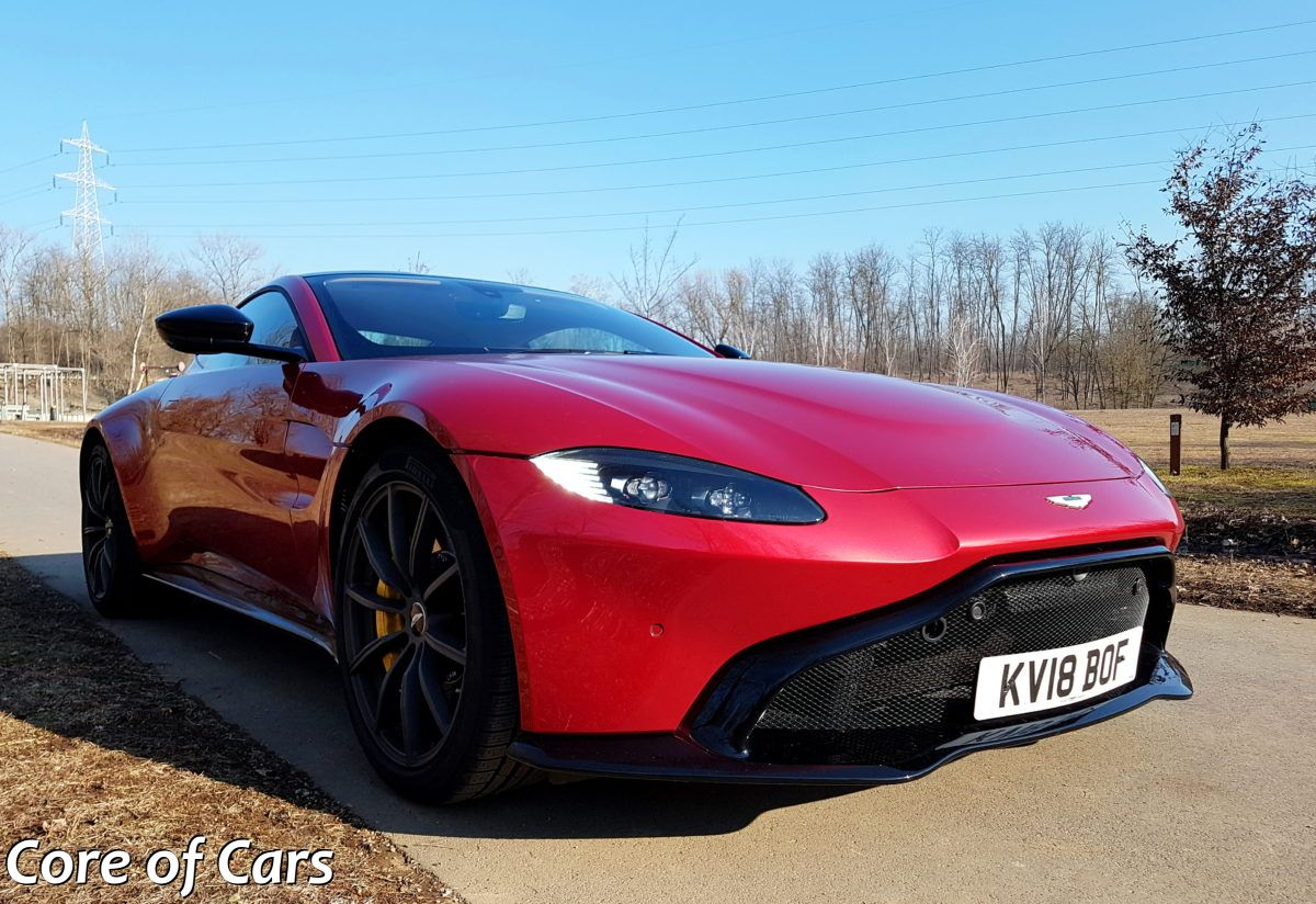 Aston Martin Vantage – Sports Car With a View