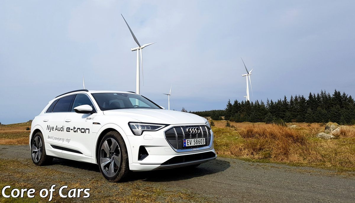 Blowin' in the Wind with the Audi e-tron