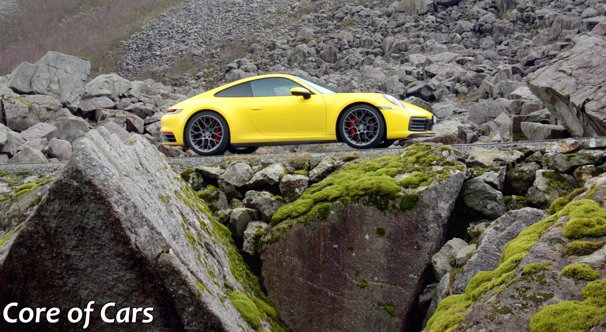 The New Porsche 911 (and some) Rocks