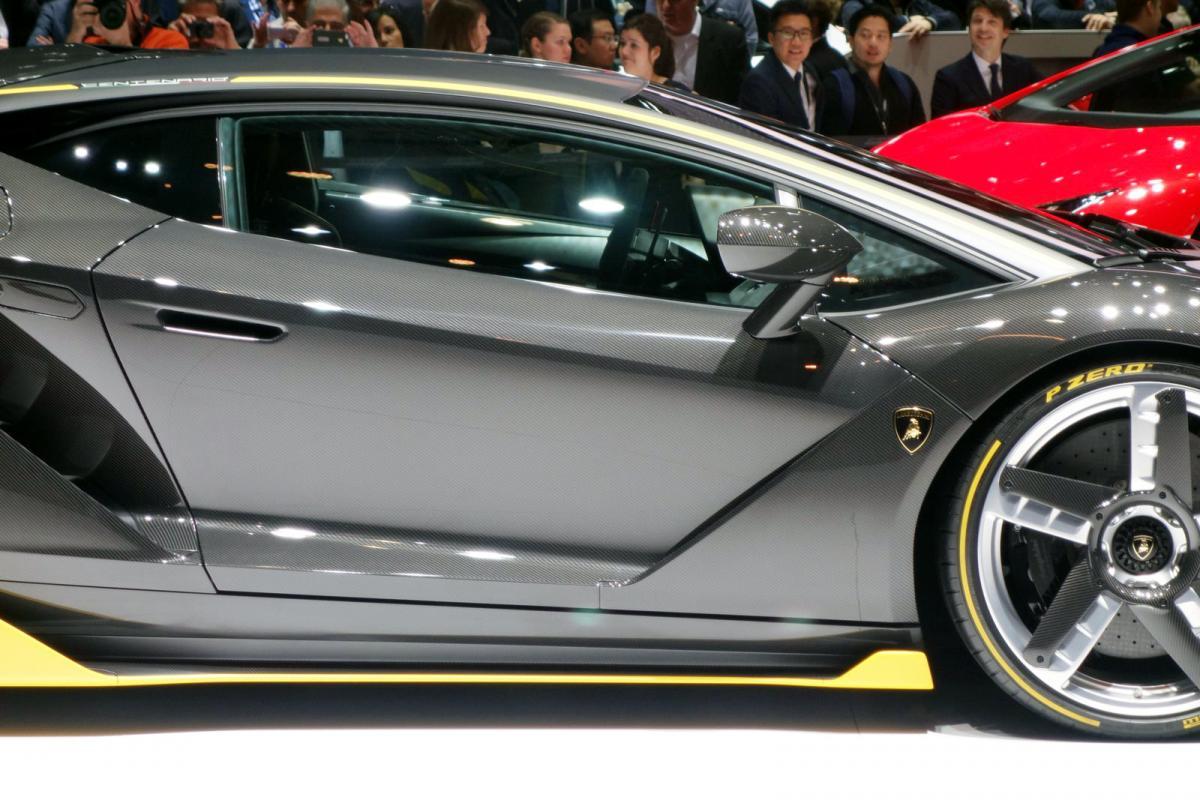 A Closer Look At The Lamborghini Centenario Core Of Cars