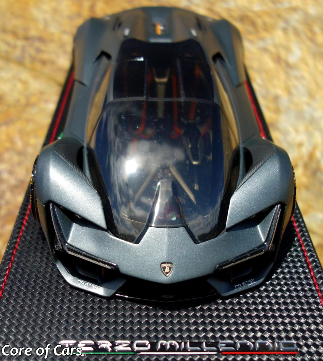 Enjoying Mr S Lamborghini Terzo Millennio Scale Model Core Of Cars