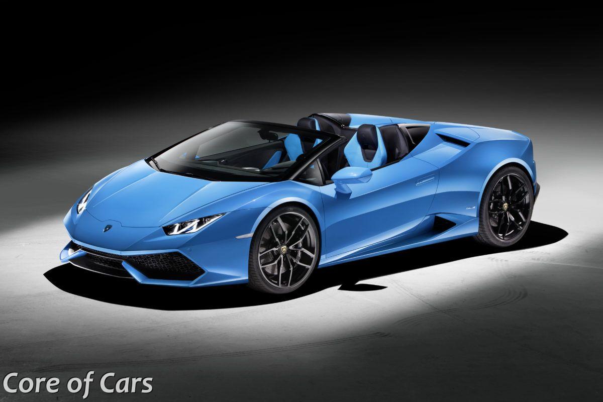 Lamborghini Opening Up The Huracán