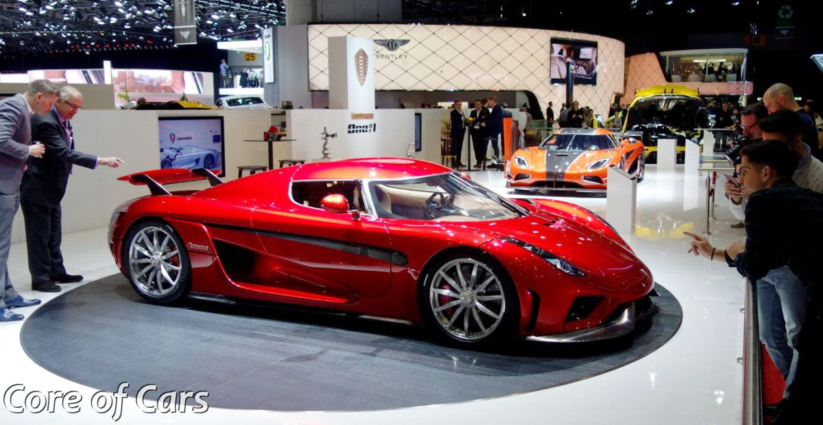 Production ready Koenigsegg Regera in Geneva w/video