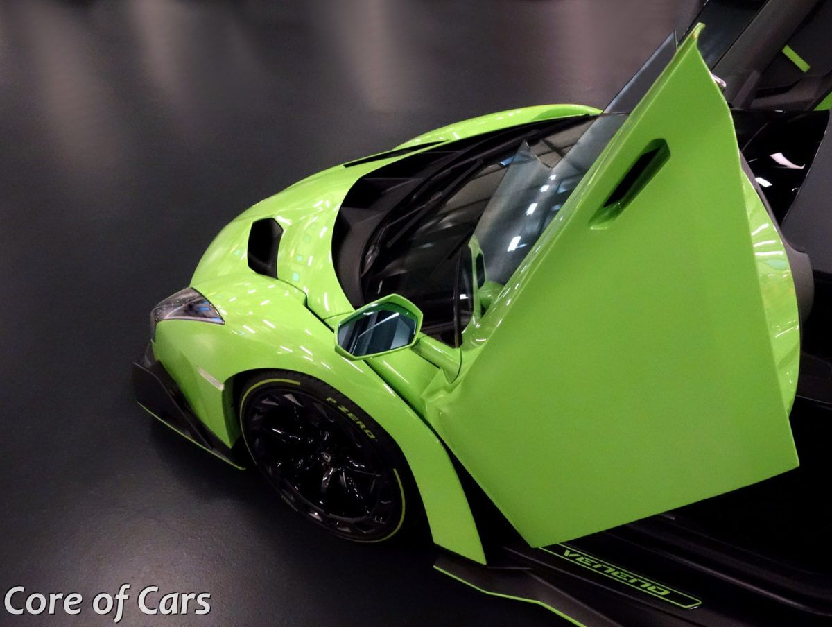 How Green Was My Lamborghini Veneno Roadster