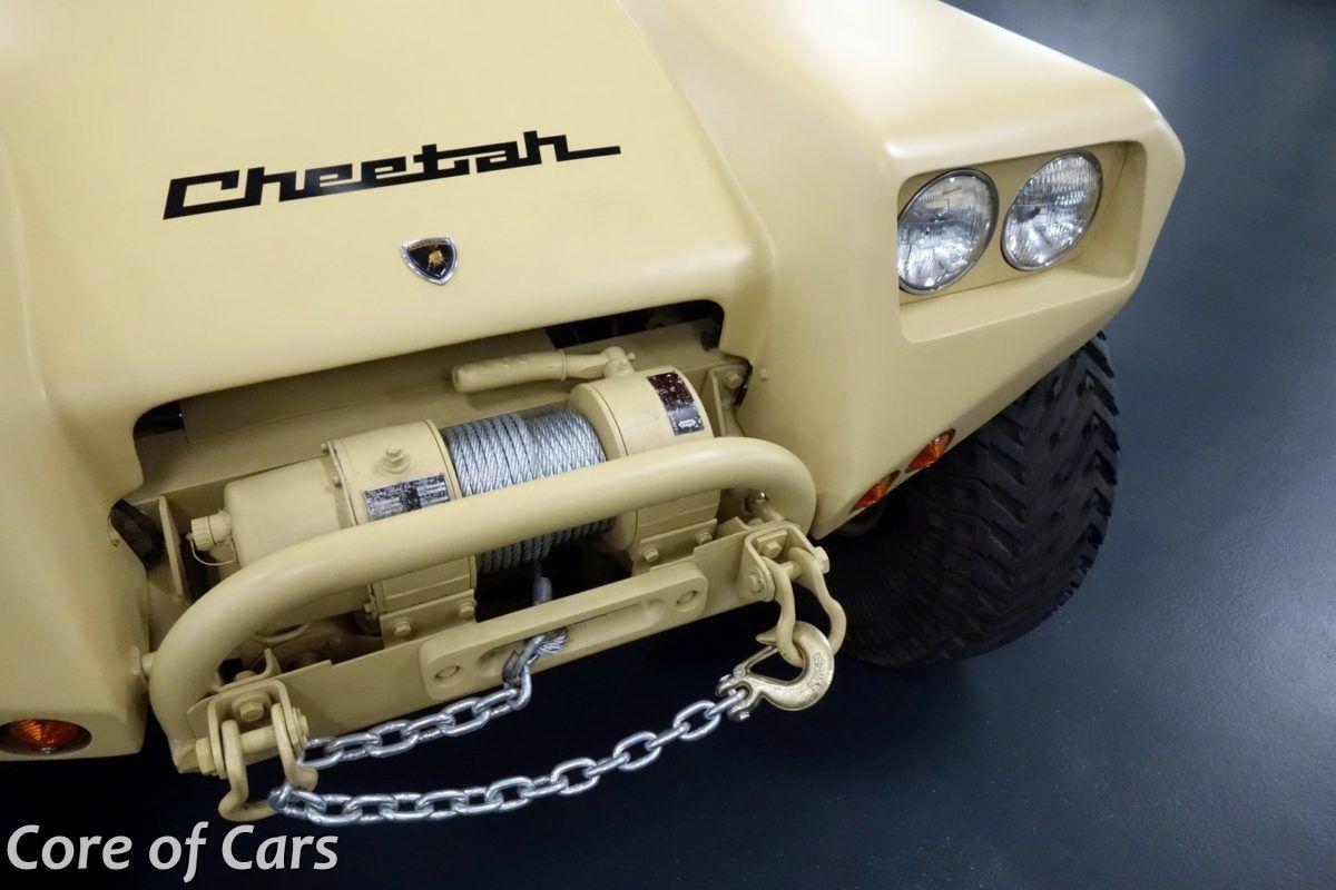 Here comes… Cheetah! Lamborghini's Off-Road Genesis