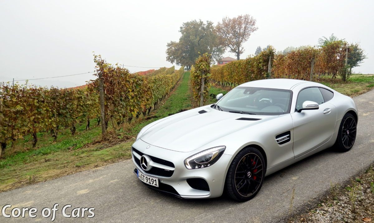 Over the Alps and Across the Plains in the Mercedes-AMG GT S