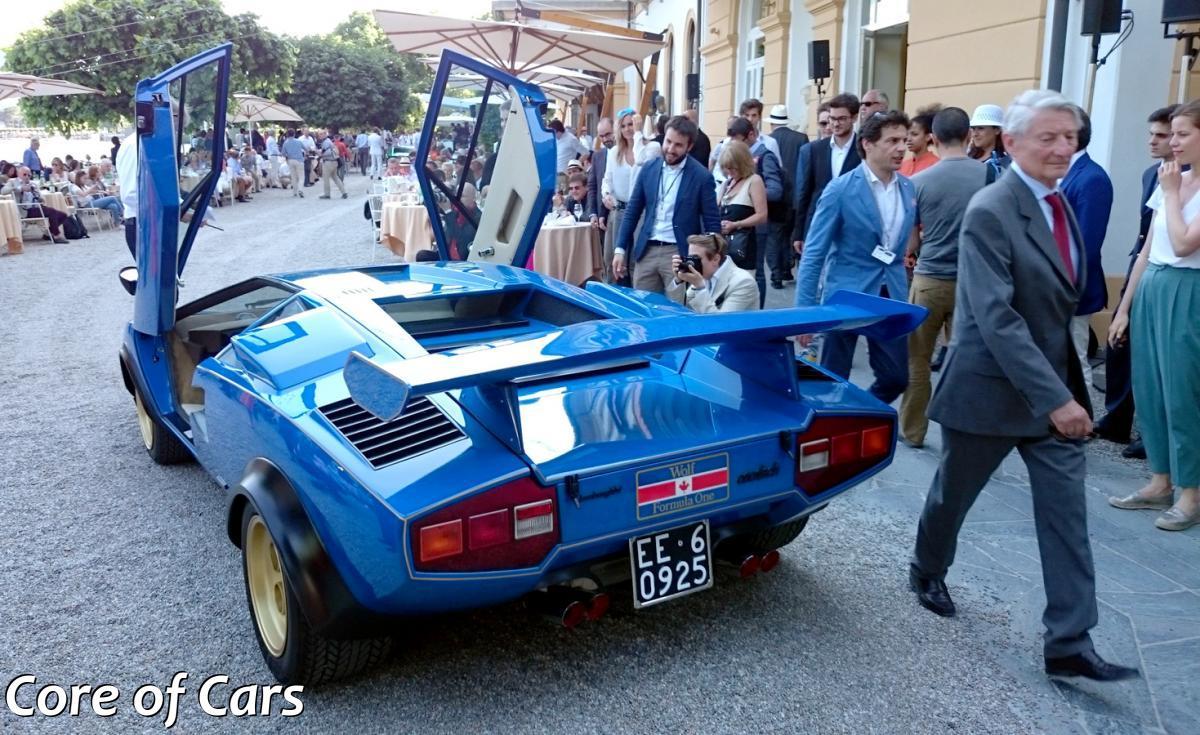 Lamborghini Countach Walter Wolf At Villa D Este Core Of Cars