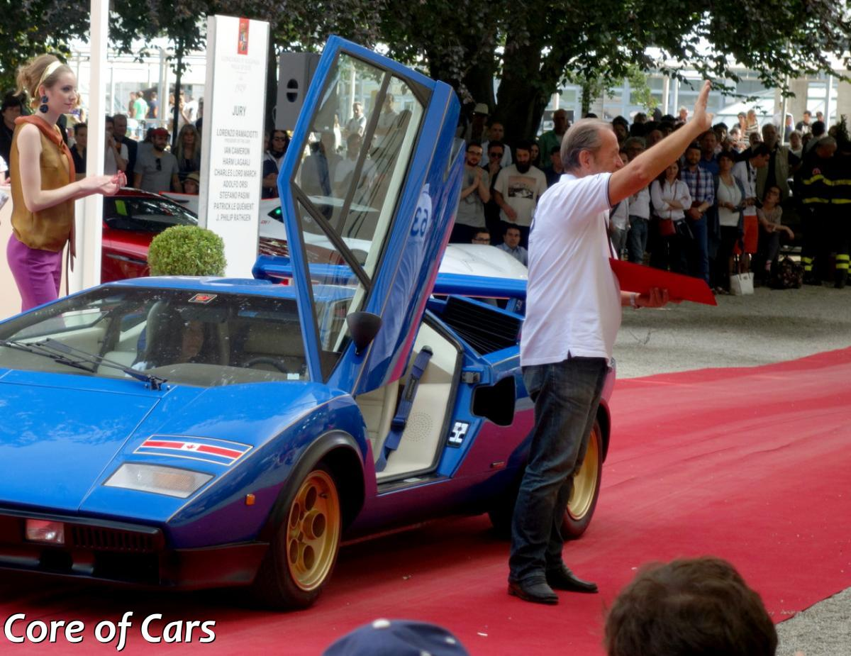 Lamborghini Countach Walter Wolf At Villa D Este Core Of Cars